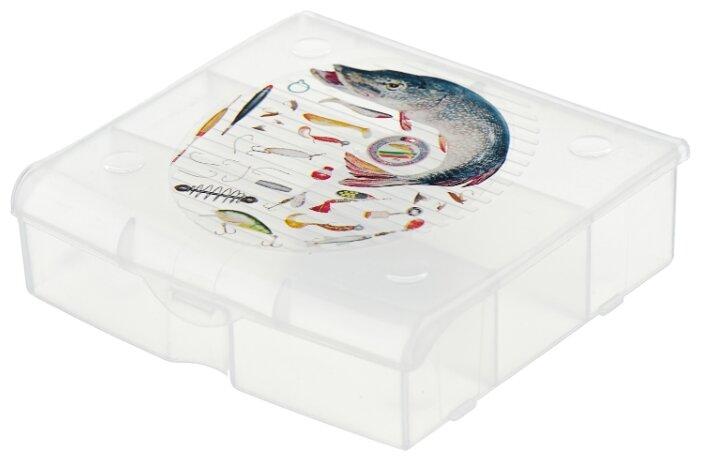 Ящик с органайзером BLOCKER 5 ячеек BR3726 14 х 13 x 4.1 см
