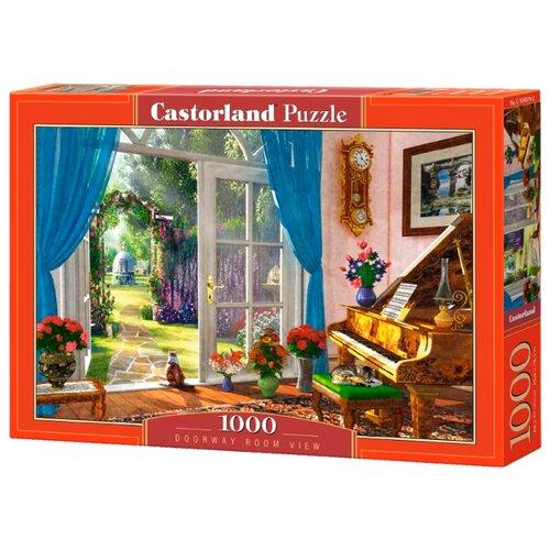 Купить Пазл Castorland Вид на сад (C-104079), 1000 дет., Пазлы