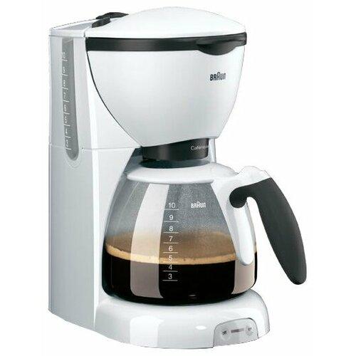 Кофеварка Braun KF 520 белый кофеварка капельная braun kf 560 1 с фильтром brita
