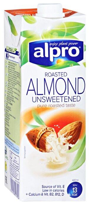 Миндальный напиток alpro без содержания сахара 1.1%, 1 л