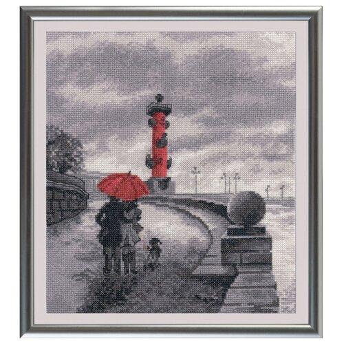 Овен Цветной Вышивка крестом Петербургская набережная 22 х 25 см (703)Наборы для вышивания<br>