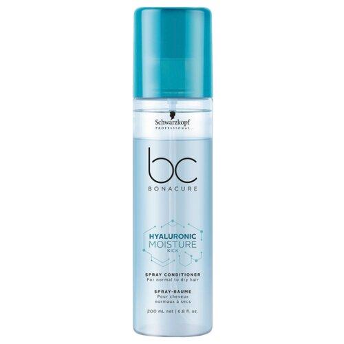 BC Bonacure Hyaluronic Moisture Kick Спрей-кондиционер для волос увлажняющий, 200 мл спрей bonacure увлажняющий