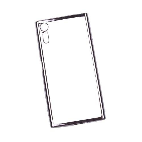 Чехол Liberty Project 0L-00032078 для Sony Xperia XZ прозрачный/черный