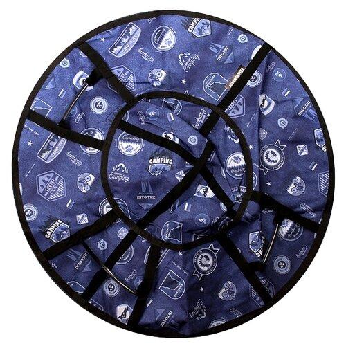 Тюбинг Hubster Люкс Pro Кемпинг синий 105 см синий