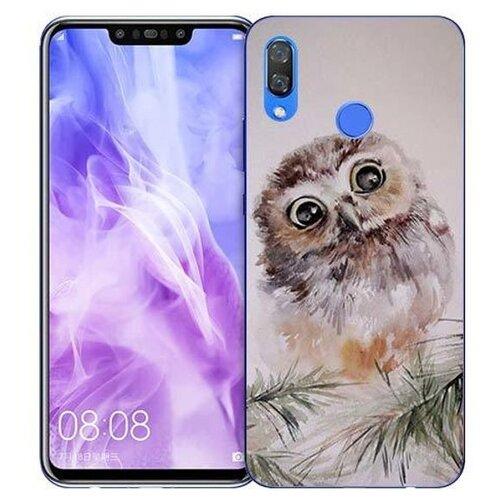 Купить Чехол Gosso 725755 для Huawei Nova 3 совенок
