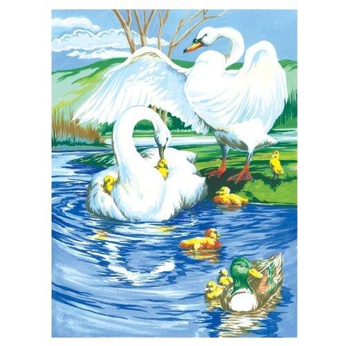 Купить Royal & Langnickel Картина по номерам На пруду 22х29 см (PJS 13), Картины по номерам и контурам
