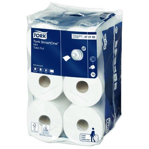 Туалетная бумага TORK SmartOne mini advanced 472193 12 рул. туалетная бумага tork universal 120195 1 рул