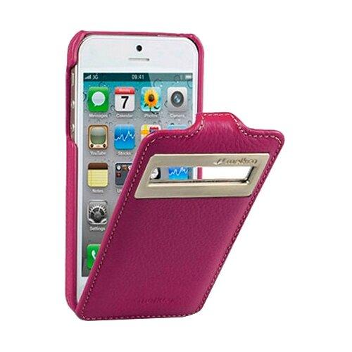 Чехол Melkco Jacka ID Type для Apple iPhone 5/iPhone 5S/iPhone SE сиреневый чехол для сотового телефона melkco кожаный чехол флип для apple iphone x xs jacka type розовый