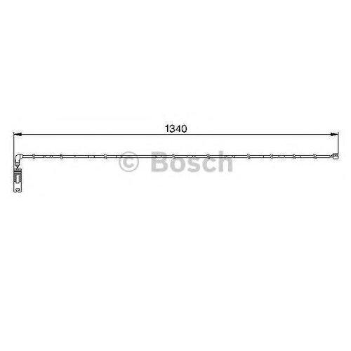 Датчик износа тормозных колодок задний Bosch 1987474944 для BMW 3 series