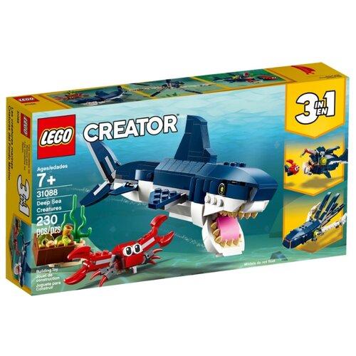 Конструктор LEGO Creator 31088 Обитатели морских глубин конструктор creator lego lego mp002xb0085u