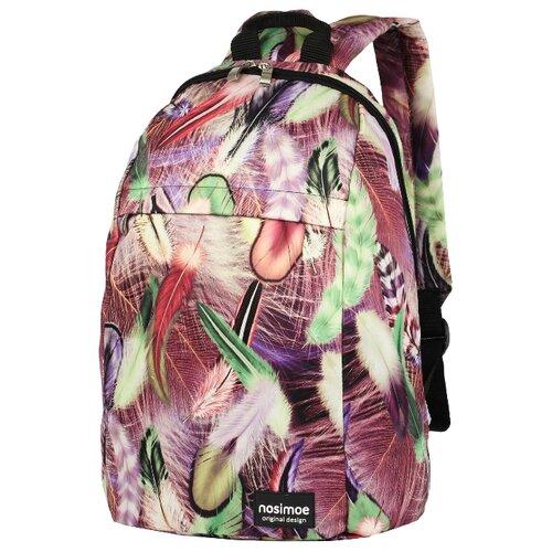 Рюкзак Nosimoe 012-02D перья фиолетовый рюкзак tramp ultra 15л trp 012 04
