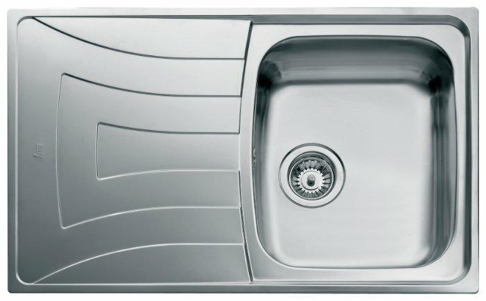Врезная кухонная мойка TEKA Universo 1B 1D 79 79х50см нержавеющая сталь