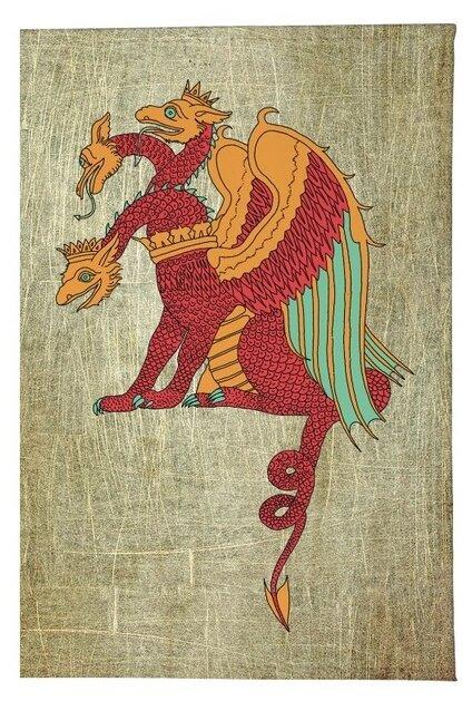 Открытка билибин змей горыныч