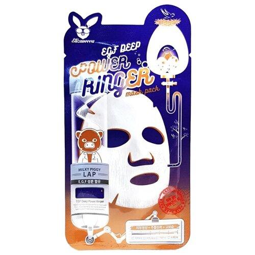 Elizavecca Тканевая маска EGF Deep Power Ringer Mask Pack, 23 млМаски<br>