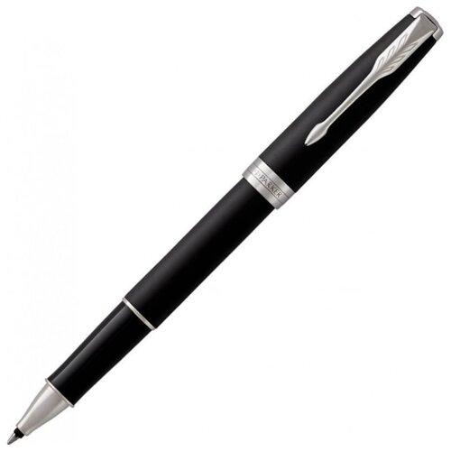 PARKER ручка-роллер Sonnet Core T529, черный цвет чернил parker ручка роллер sonnet core t529 черный цвет чернил