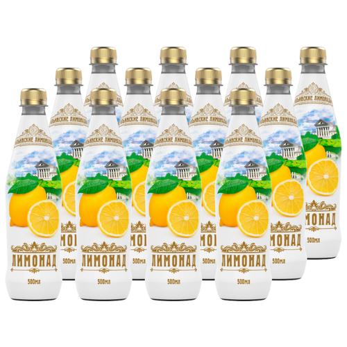 Газированный напиток Ильинские лимонады Лимонад, 0.5 л, 12 шт. мингаз лимонад напиток 0 5 л