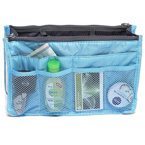 Органайзер для сумки HOMSU Chelsy, голубой органайзер для сумки homsu цвет черный 28 x 8 x 16 см