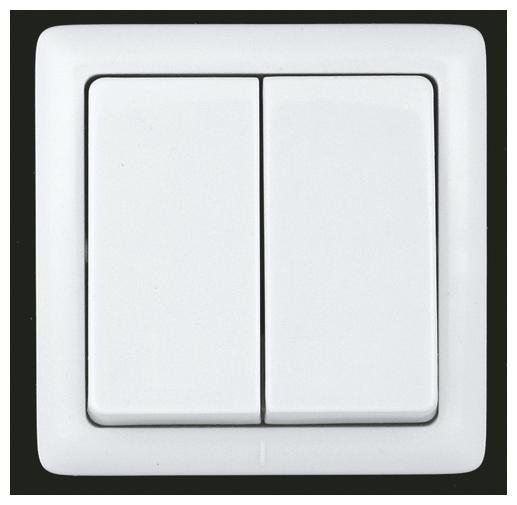 Переключатель (с 2-х мест) Schneider Electric ХИТ VA56-232-B, 6А , белый
