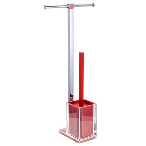Ершик туалетный Fixsen Rainbow FX-32 красный