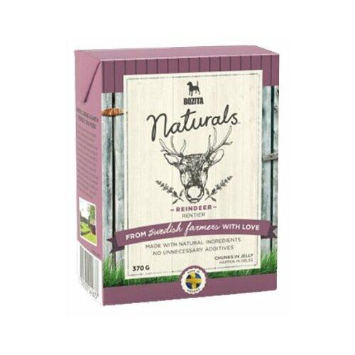 Влажный корм для собак Bozita Naturals беззерновой, оленина 370г