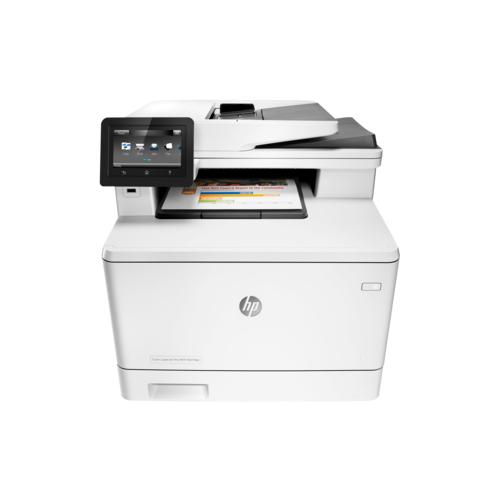 МФУ HP Color LaserJet Pro MFP M477fnw белый