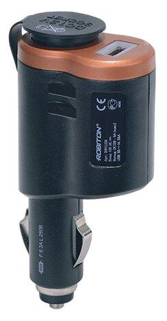 Разветвитель прикуривателя ROBITON SM1/USB