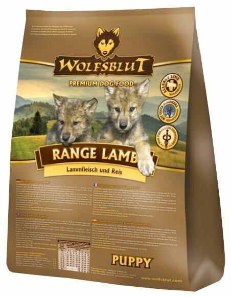 Корм для собак Wolfsblut Range Lamb Puppy