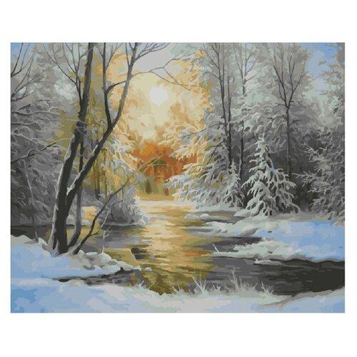 Molly Картина по номерам Снежная зима 40х50 см (KH0171)Картины по номерам и контурам<br>