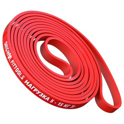 Эспандер лента Original FitTools FT-EX-208-13 208 х 1.3 см красный