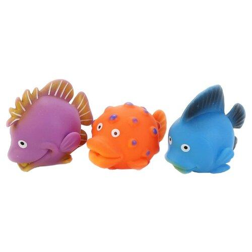 Купить Набор для ванной Играем вместе 3 Рыбки (В1581623), Игрушки для ванной