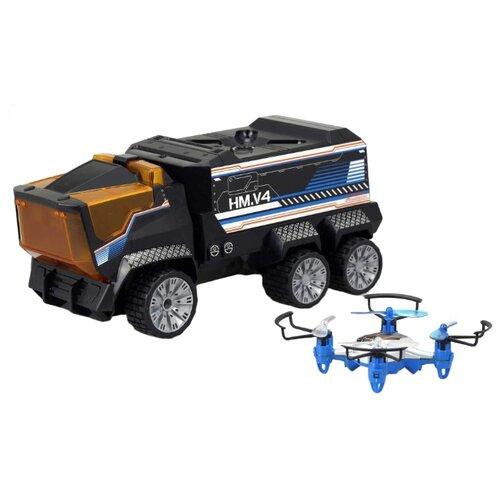 Купить Набор техники Silverlit Drone Mission (84772) черный, Радиоуправляемые игрушки