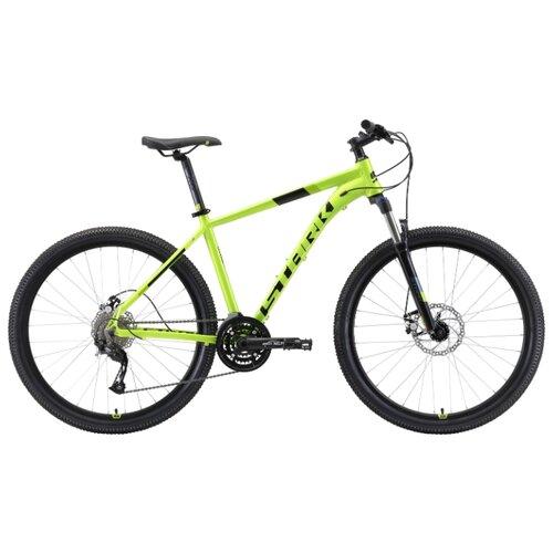 Горный (MTB) велосипед STARK Router 27.4 D (2019) зеленый/черный 20