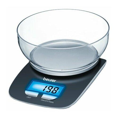 Фото - Кухонные весы Beurer KS 25 черный кухонные весы beurer ks 59