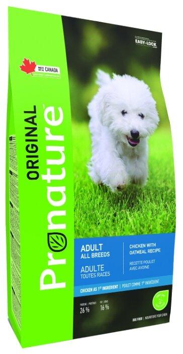 Корм для собак ProNature Original для здоровья кожи и шерсти, курица с овсянкой
