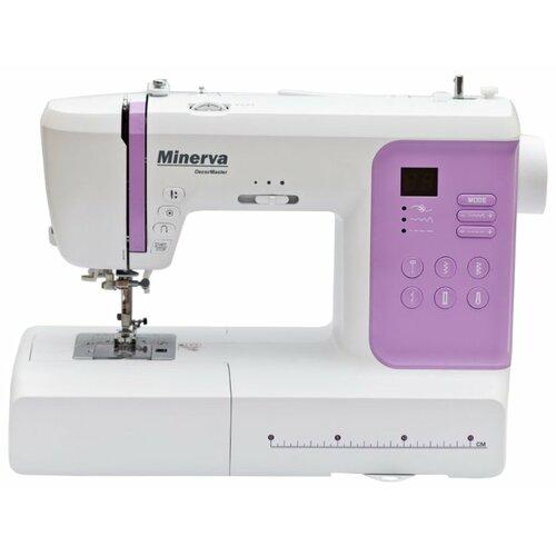 Швейная машина Minerva DecorMaster, бело-розовый