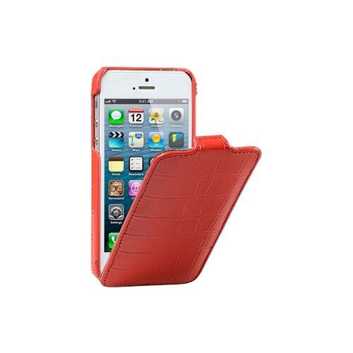 цена на Чехол Melkco Jacka Type (крокодиловая кожа) для Apple iPhone 5/iPhone 5S/iPhone SE красный