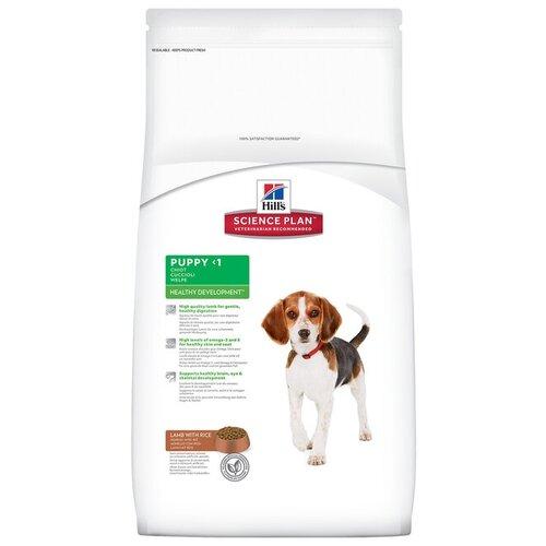 Корм для собак Hills (12 кг) Science Plan Puppy Healthy Development Medium Lamb & RiceКорма для собак<br>