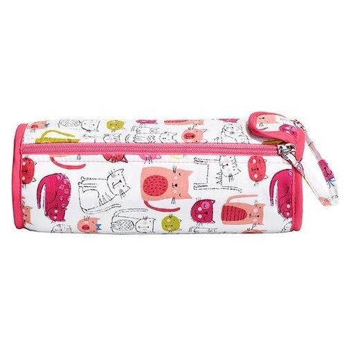 Купить Prym Футляр для крючков Kitty (612044) белый/розовый, Инструменты и аксессуары