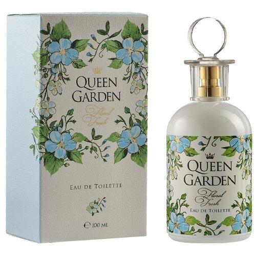 Фото - Туалетная вода Парфюмерия XXI века Queen Garden Floral Fresh, 100 мл туалетная вода парфюмерия xxi века aqva blue aqva 95 мл