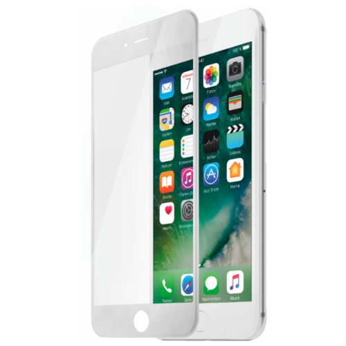 Защитное стекло Partner 3D Asahi для Apple iPhone 7 белыйЗащитные пленки и стекла<br>