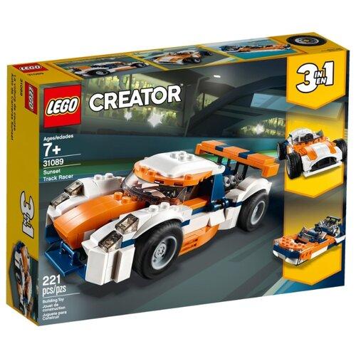 Конструктор LEGO Creator 31089 Оранжевый гоночный автомобиль конструктор creator lego lego mp002xb0085u
