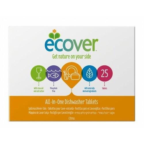 бытовая химия ecover таблетки для посудомоечной машины 3 в 1 0 5 кг Ecover 3 в 1 таблетки для посудомоечной машины, 25 шт., 0.5 кг