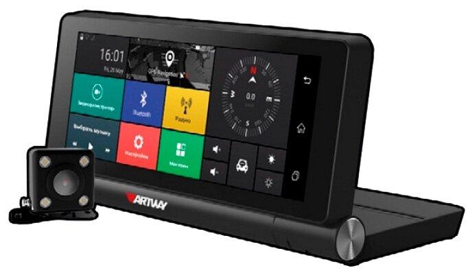 Видеорегистратор Artway MD-911, 2 камеры, GPS