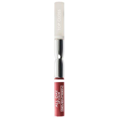 Seventeen Жидкая помада для губ All Day Lip Color, оттенок 04, пастель терракотПомада<br>
