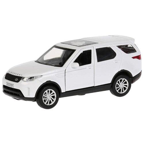 Купить Внедорожник ТЕХНОПАРК Land Rover Discovery (DISCOVERY-GY/WT) 12 см белый, Машинки и техника