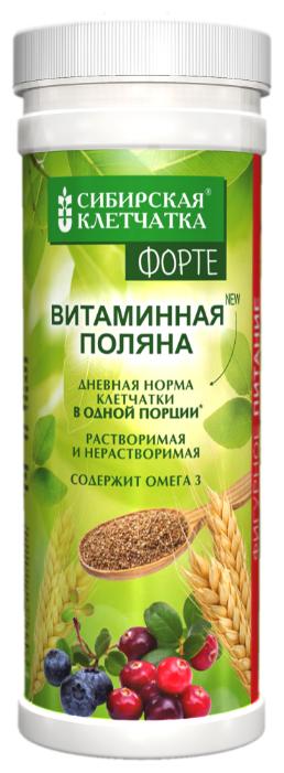 Клетчатка СИБИРСКАЯ КЛЕТЧАТКА Витаминная поляна Форте, 200 г