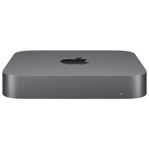 Неттоп Apple Mac Mini MRTR2RU/A Slim-Desktop/Intel Core i3-8100/8 ГБ/128 ГБ SSD/Intel UHD Graphics 630/OS X серый космос