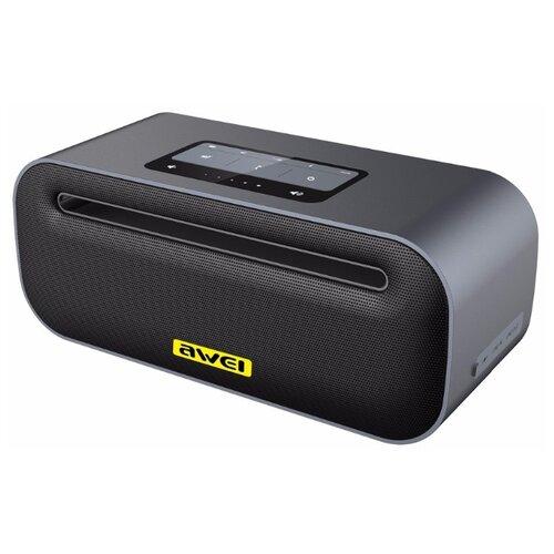 цена Портативная акустика Awei Y600 grey онлайн в 2017 году