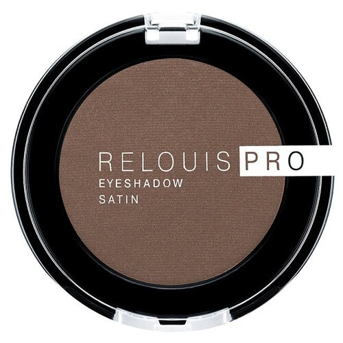 Relouis Тени для век Pro Eyeshadow Satin 34 cinnamon relouis тени для век pro eyeshadow satin 32 rose quartz