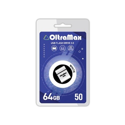 Фото - Флешка OltraMax 50 64GB white флешка oltramax 50 8gb white